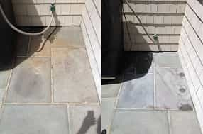 Rust Removal From Blue Stone Pavers